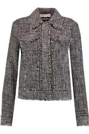 MICHAEL MICHAEL KORS Fringed tweed jacket