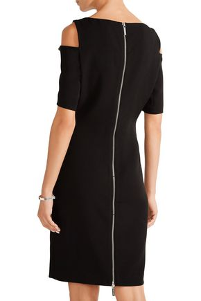MICHAEL MICHAEL KORS Cutout stretch-crepe dress