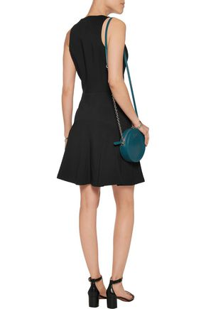 MICHAEL MICHAEL KORS Paneled crepe mini dress