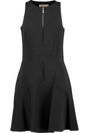MICHAEL MICHAEL KORS Paneled crepe mini dress