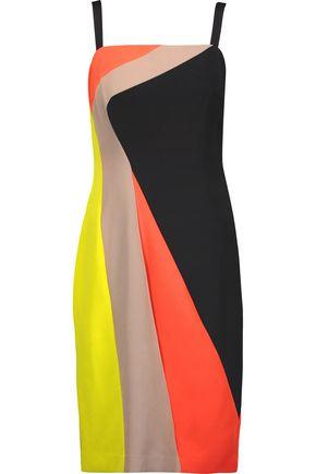 MILLY Dahlia printed crepe dress