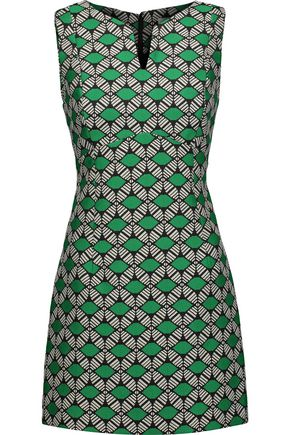 MILLY Jacquard mini dress