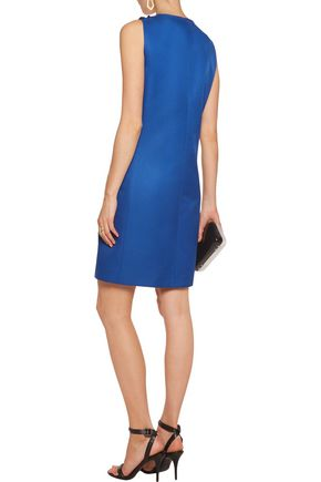 MICHAEL KORS COLLECTION Mikado pailette-embellished wool and silk-blend dress