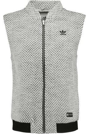 ADIDAS ORIGINALS Herringbone tweed vest