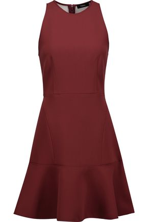THEORY Felicitina crepe mini dress