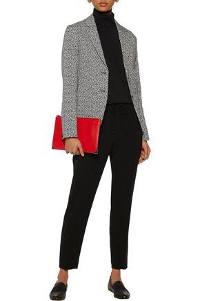 RAG & BONE Tera cotton-blend leopard jacquard blazer
