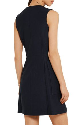 RAG & BONE Fleet cotton and silk-blend twill mini dress