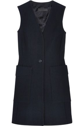 RAG & BONE Fleet cotton and silk-blend twill mini dress