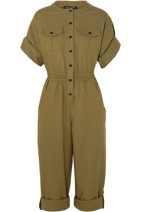 VANESSA SEWARD Bacan woven cotton jumpsuit