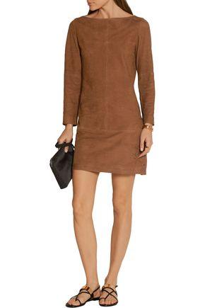 VANESSA SEWARD Blunt suede mini dress