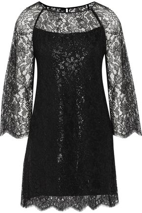 VANESSA SEWARD Corded lace mini dress