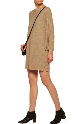 VANESSA SEWARD Metallic knitted mini dress