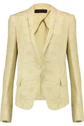 HAIDER ACKERMANN Linen and silk-blend jacquard blazer