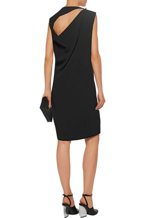 ACNE STUDIOS Caprice open-back draped crepe mini dress