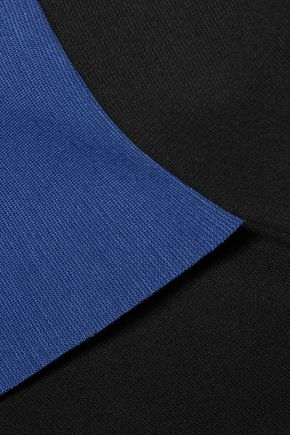 IRIS AND INK Kendra wrap-effect jersey midi dress