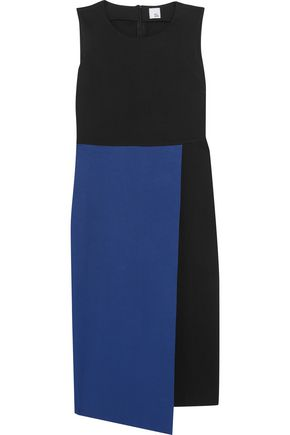 IRIS AND INK Kendra wrap-effect jersey midi dress