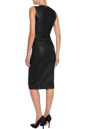 IRIS & INK Carrie leather dress