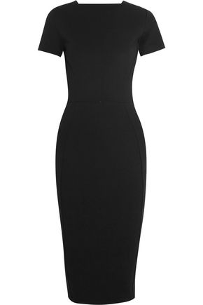 IRIS & INK Zoe stretch-ponte midi dress