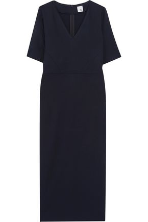 IRIS & INK Ivanna stretch-ponte midi dress
