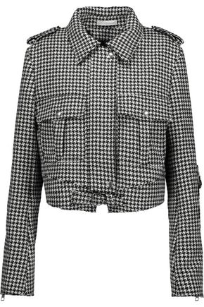 J.W.ANDERSON Houndstooth wool-blend jacket