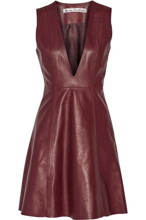 ACNE STUDIOS Lavern leather dress