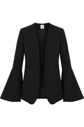 IRIS AND INK Vanessa fluted twill blazer