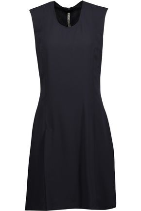 ACNE STUDIOS Raylan Sablé asymmetric crepe mini dress
