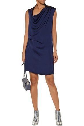 ACNE STUDIOS Rebecca draped satin mini dress
