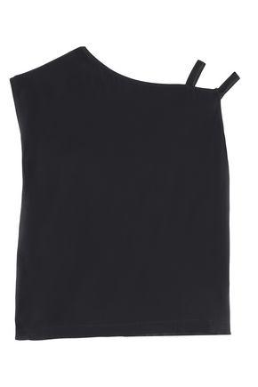HELMUT LANG Asymmetrical one-shoulder cady top