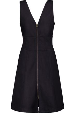 TOMAS MAIER Flared denim dress