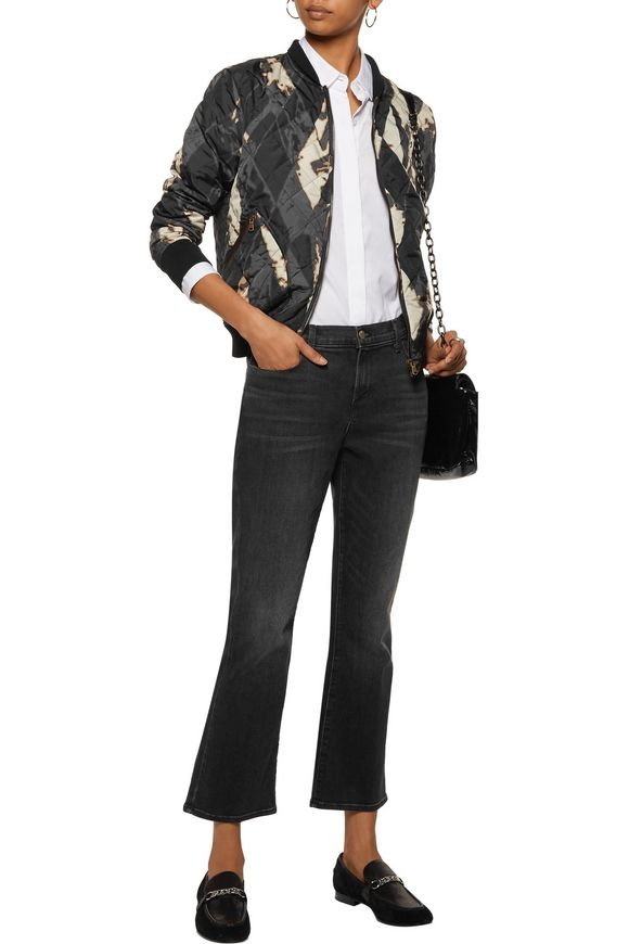 Printed quilted shell bomber jacket | TOMAS MAIER | Sale up to 70% off |  THE OUTNET