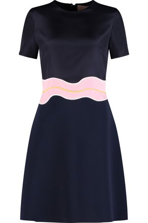 ROKSANDA Aublin crepe-paneled chiffon dress