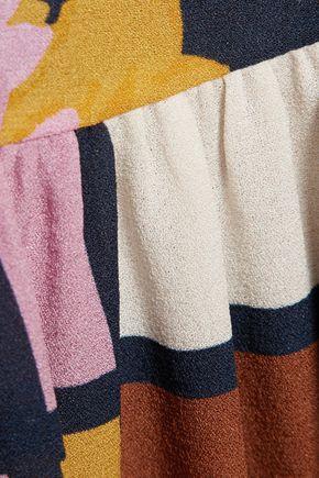 ROKSANDA Nihau printed silk-crepe maxi dress