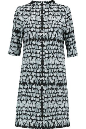 GOAT Alexa printed crepe dress