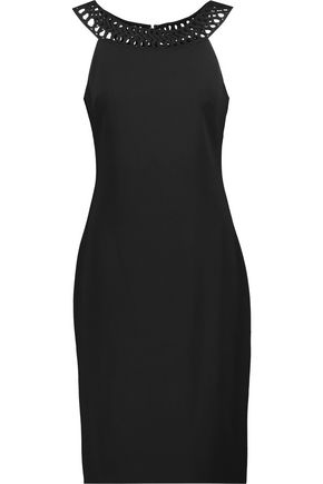 BADGLEY MISCHKA Day crepe mini dress