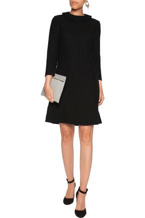 GOAT Camille ruffle-trimmed wool-crepe mini dress
