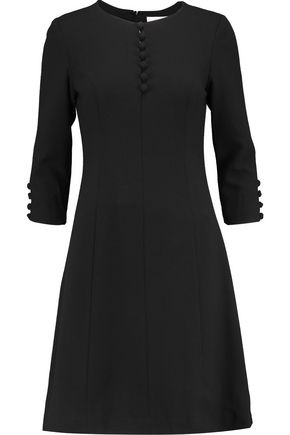 GOAT Carlotta wool-crepe dress