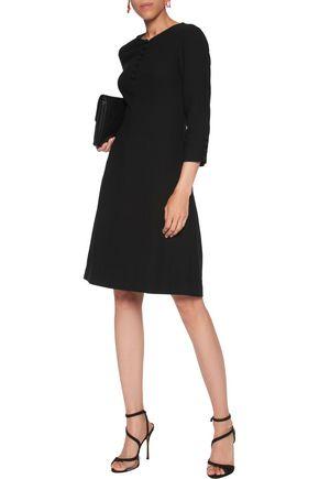 GOAT Carlotta wool-crepe dress