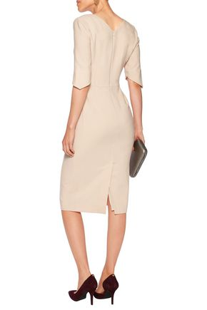 GOAT Carmen wool-crepe dress
