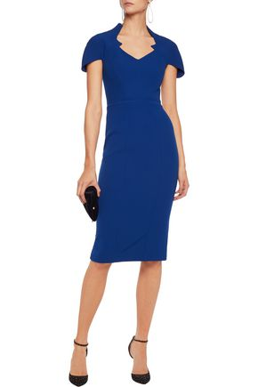 SAFIYAA Cutout stretch-crepe dress