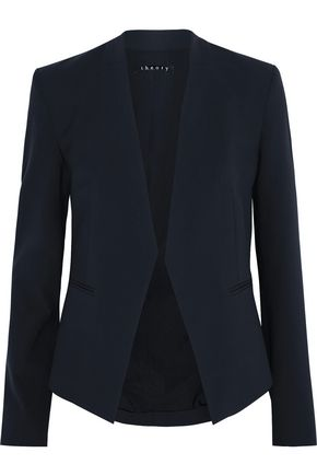 THEORY Lanai stretch-wool crepe blazer