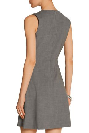 THEORY Stretch-wool mini dress
