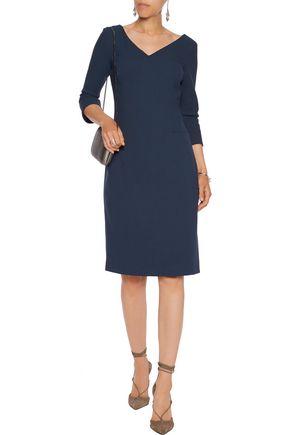 GOAT Lexy wool-crepe dress