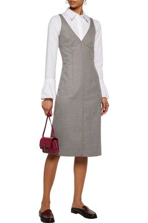 JOSEPH Gloria wool-blend flannel dress