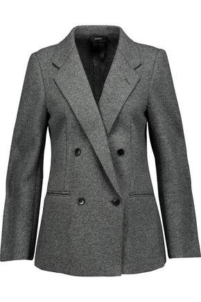 JOSEPH Blazz marled wool-blend blazer