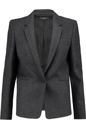JOSEPH Button cuff wool-blend blazer