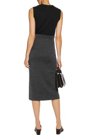 JOSEPH Ellis panelled stretch-jersey tank dress