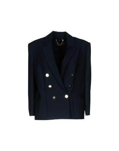 Фото - Женский пиджак ELISABETTA FRANCHI 24 ORE темно-синего цвета