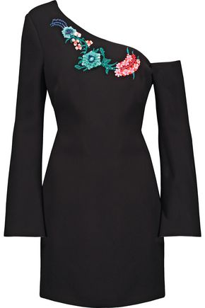 RACHEL ZOE Harper embellished crepe mini dress