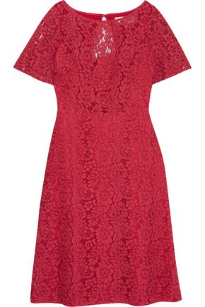 GOAT Virtue guipure lace dress